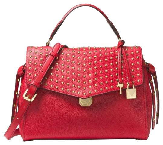 Preload https://item3.tradesy.com/images/michael-kors-bristol-top-handle-medium-bright-red-leather-satchel-23334612-0-1.jpg?width=440&height=440