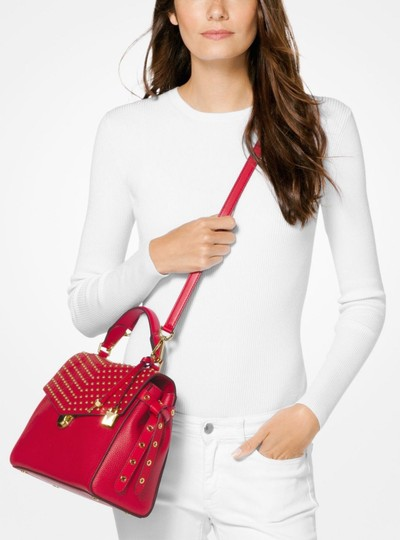 Michael Kors Satchel in Bright Red