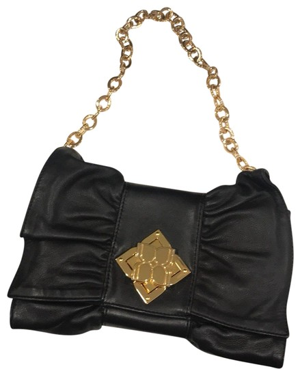 Preload https://item2.tradesy.com/images/bcbgmaxazria-bcbg-handbag-with-gold-detail-black-leather-wristlet-23334651-0-2.jpg?width=440&height=440