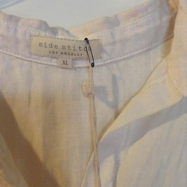 Side Stitch Los Angeles Button Down Shirt Natural