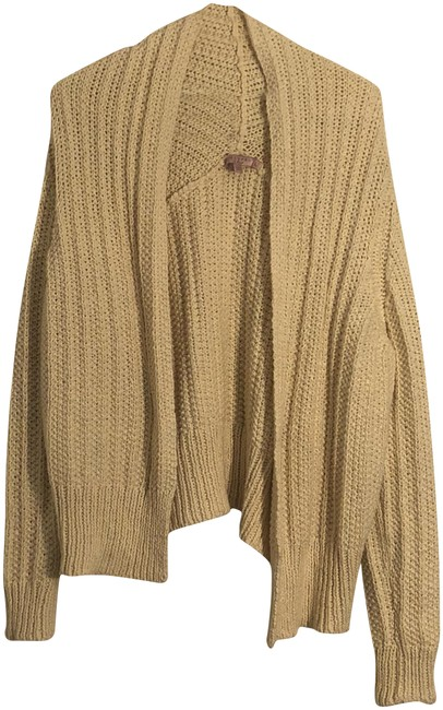 Preload https://item2.tradesy.com/images/calypso-st-barth-cream-chunky-knit-open-front-cardigan-size-12-l-23334666-0-1.jpg?width=400&height=650