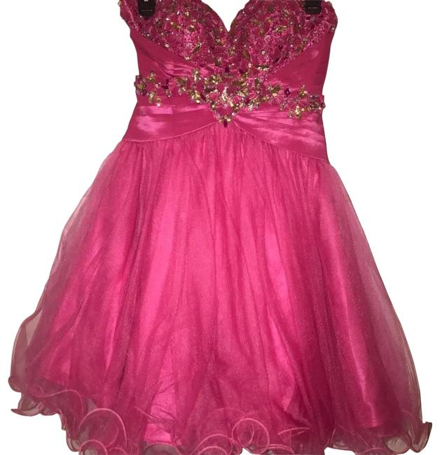 Preload https://img-static.tradesy.com/item/23334705/alyce-paris-hot-pink-short-formal-dress-size-2-xs-0-1-650-650.jpg