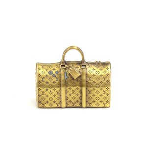 Louis Vuitton Louis Vuitton Gold Keepall Paperweight-VIP Limited Collectible