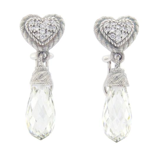Preload https://img-static.tradesy.com/item/23334734/judith-ripka-925-sterling-silver-crystal-and-cz-earrings-0-0-540-540.jpg