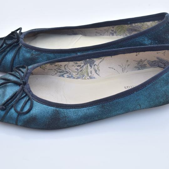 Gillian Julius blue & black Flats