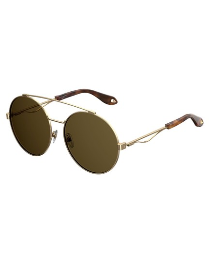 Preload https://img-static.tradesy.com/item/23334793/givenchy-pale-gold-new-7048s-brown-round-aviator-sunglasses-0-0-540-540.jpg