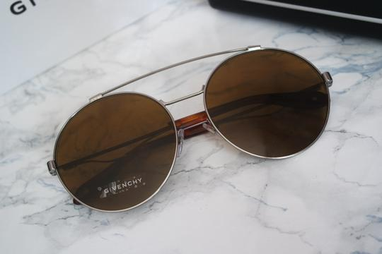 Givenchy NEW Givenchy Sunglasses Gv 7048/S Pale Gold Brown Round Aviator