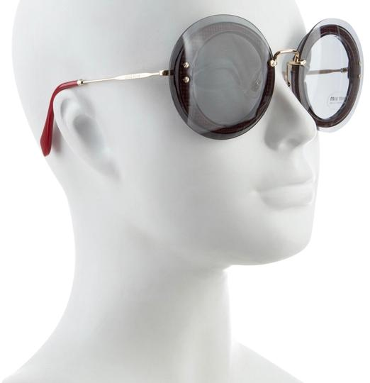 Preload https://img-static.tradesy.com/item/23334799/miu-miu-red-round-sunglasses-0-1-540-540.jpg