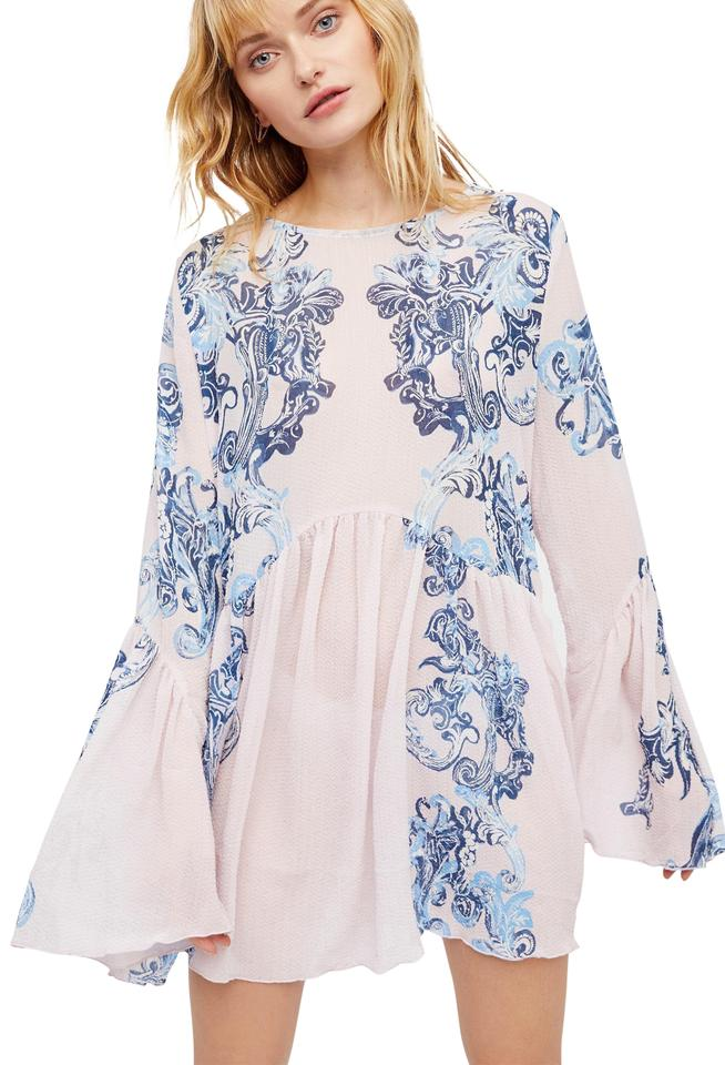 0f65924eff32 Free People Petal Combo Symphony Slip Tunic/Dress Xsmall In Blouse ...