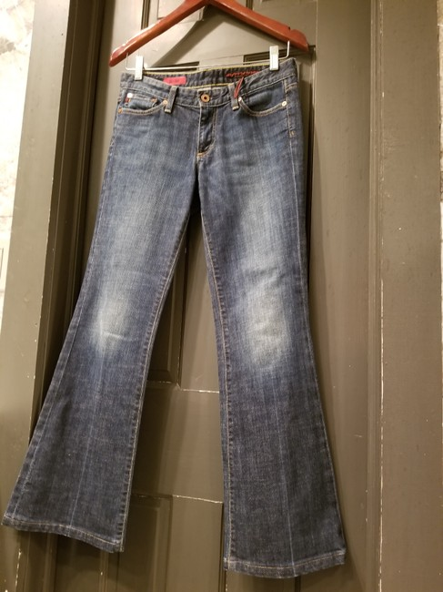 AG Adriano Goldschmied Flare Boot Cut Jeans-Medium Wash