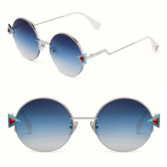 Preload https://img-static.tradesy.com/item/23334909/fendi-red-blue-silver-rainbow-round-frame-sunglasses-0-0-540-540.jpg