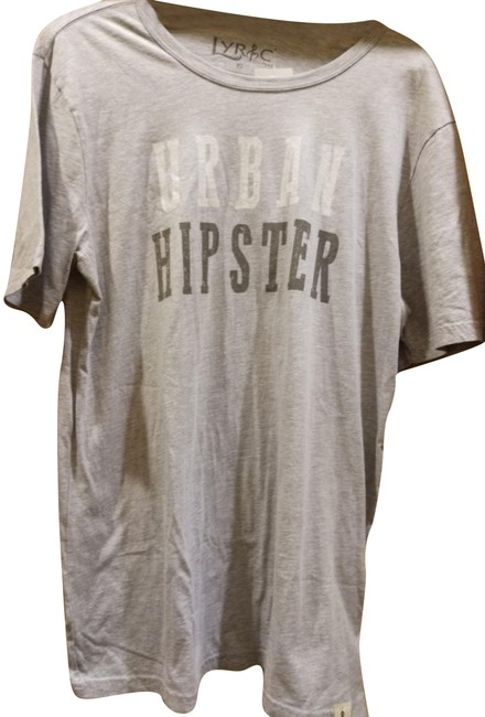 Preload https://item2.tradesy.com/images/heather-grey-xl-urban-hipster-cotton-tee-shirt-size-16-xl-plus-0x-23334956-0-1.jpg?width=400&height=650