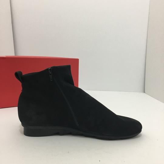 Arche Comfort Leather Ankle Size 9.5 Black - Noir Boots