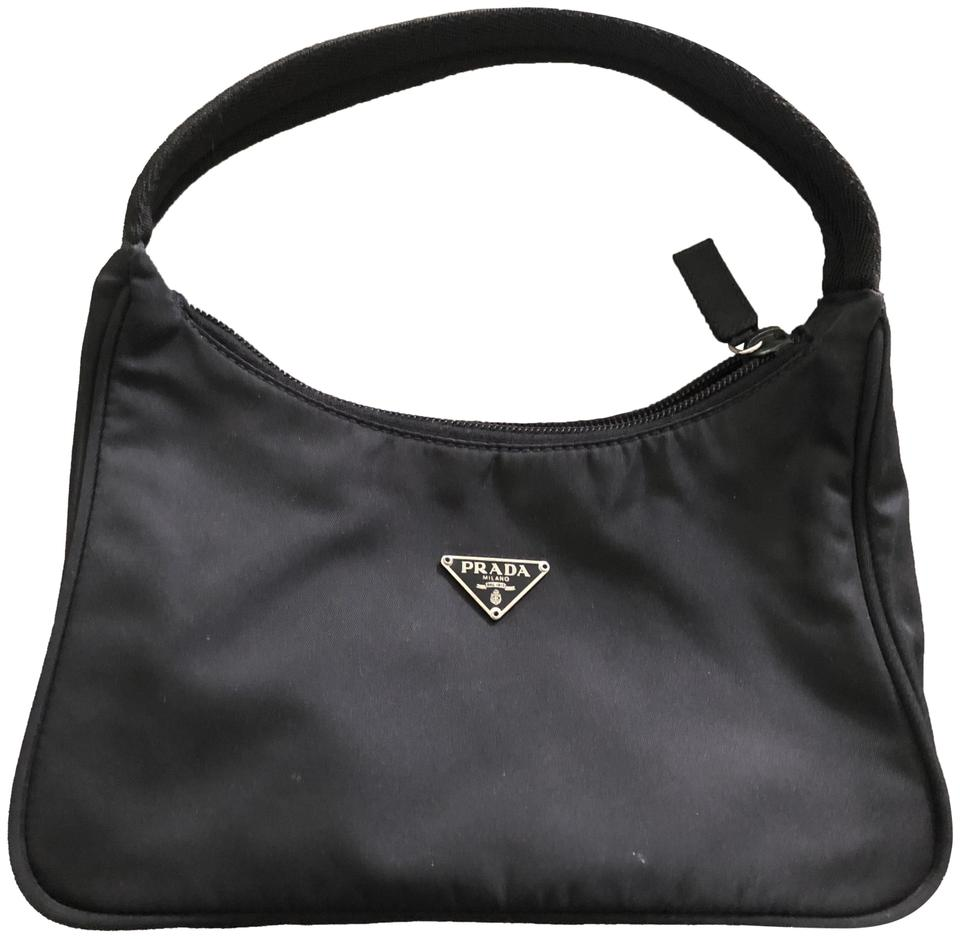 b66be63b0c9f Prada Mini Tessuto Handbag Sport Black Nylon Shoulder Bag - Tradesy