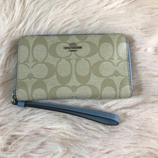 Coach Signature Phone Wallet