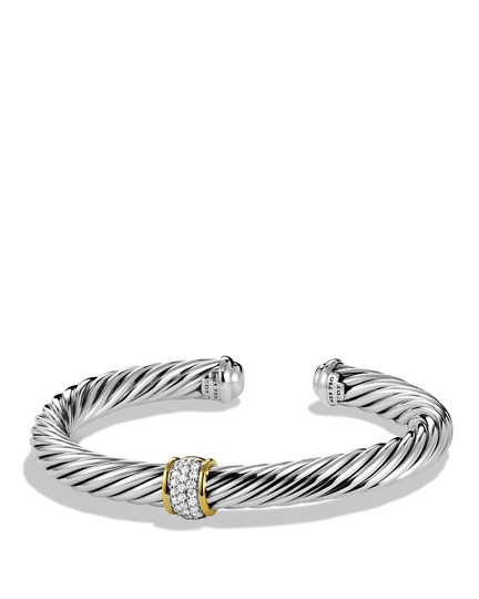 Preload https://item3.tradesy.com/images/david-yurman-gold-7mm-cable-classics-with-diamonds-and-bracelet-23335032-0-0.jpg?width=440&height=440