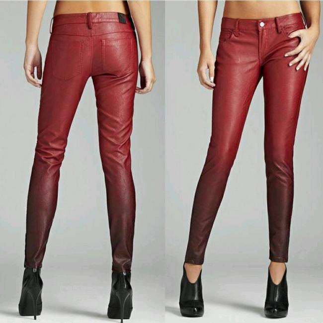Preload https://img-static.tradesy.com/item/23335087/guess-red-ombre-faux-leather-pants-size-00-xxs-24-0-1-650-650.jpg