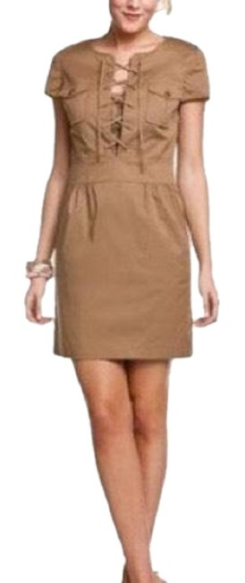 Preload https://item3.tradesy.com/images/tory-burch-tan-sand-dollar-brown-farla-short-casual-dress-size-4-s-23335097-0-3.jpg?width=400&height=650