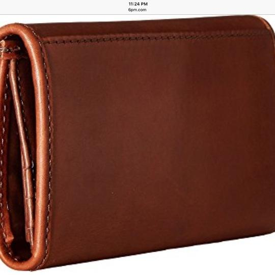 Frye Wristlet in Redwood