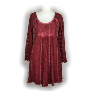 Black Swan short dress Burgundy on Tradesy