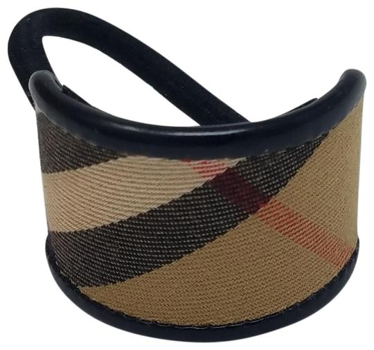 Preload https://img-static.tradesy.com/item/23335209/burberry-black-beige-multicolor-camel-coated-canvas-tie-hair-accessory-0-2-540-540.jpg