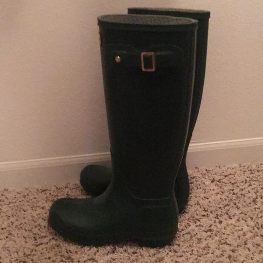 Hunter dark green Boots