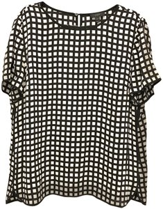 J.Crew Top Black/White