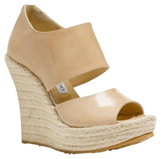 Preload https://item2.tradesy.com/images/jimmy-choo-nude-patriot-sandal-wedges-size-eu-39-approx-us-9-regular-m-b-23335251-0-1.jpg?width=440&height=440
