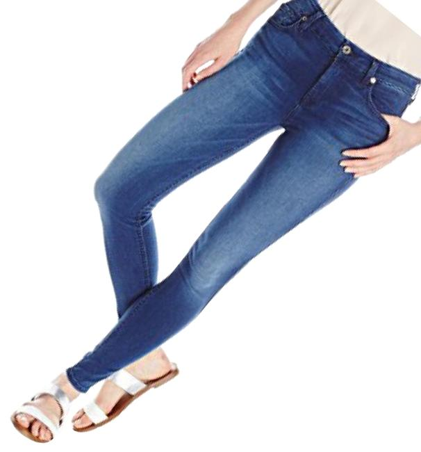 Preload https://item2.tradesy.com/images/7-for-all-mankind-blue-medium-wash-the-skinny-jeans-size-4-s-27-23335306-0-1.jpg?width=400&height=650