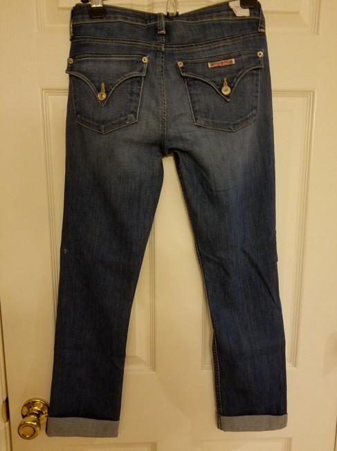 Hudson Capri/Cropped Denim-Medium Wash