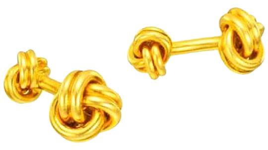 Preload https://img-static.tradesy.com/item/23335338/14kt-yellow-gold-plated-knot-cufflinks-0-1-540-540.jpg
