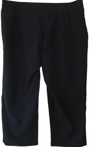 Eileen Fisher Perfectly Balanced Travel-friendly Practical Polished Capris black