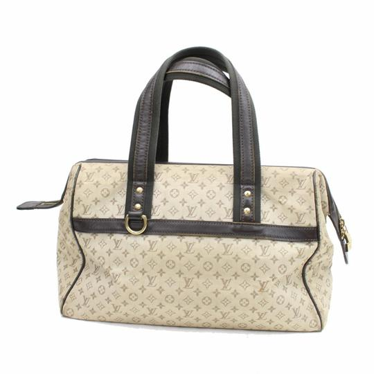 Preload https://item3.tradesy.com/images/louis-vuitton-josephine-monogram-866771-olive-mini-lin-canvas-satchel-23335367-0-0.jpg?width=440&height=440