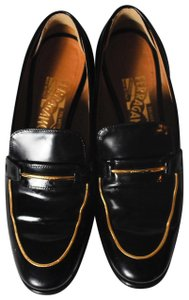 Salvatore Ferragamo Sf Loafers Loafers Sf Reed Loafers Reed Loafers Black Flats