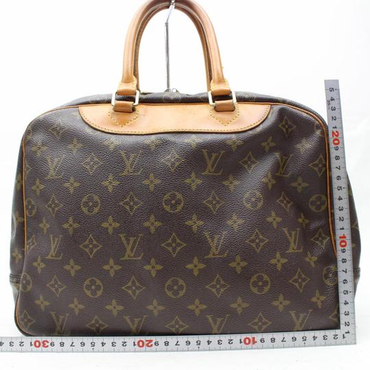 Louis Vuitton Deauville Trouville Alma Bowler Alize Satchel in Brown