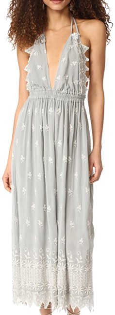 Preload https://item5.tradesy.com/images/loveshackfancy-grey-with-white-embroidered-isabel-long-casual-maxi-dress-size-2-xs-23335419-0-1.jpg?width=400&height=650