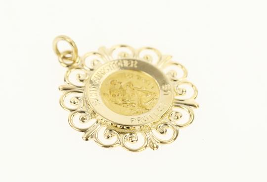 Other 14K Yellow Gold St. Christopher Pendant