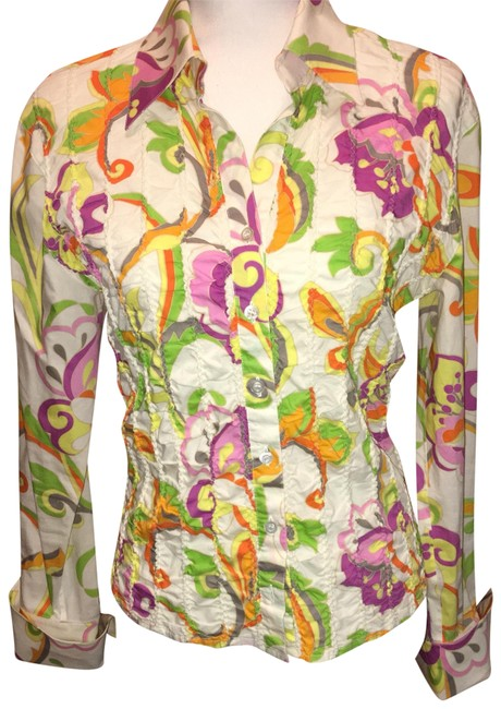 Preload https://img-static.tradesy.com/item/23335489/escada-multicolor-crinkled-floral-print-french-cuff-shirt-button-down-top-size-4-s-0-1-650-650.jpg