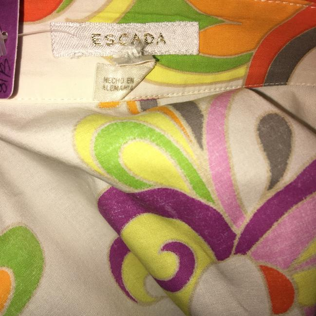 Escada Button Down Shirt Multi
