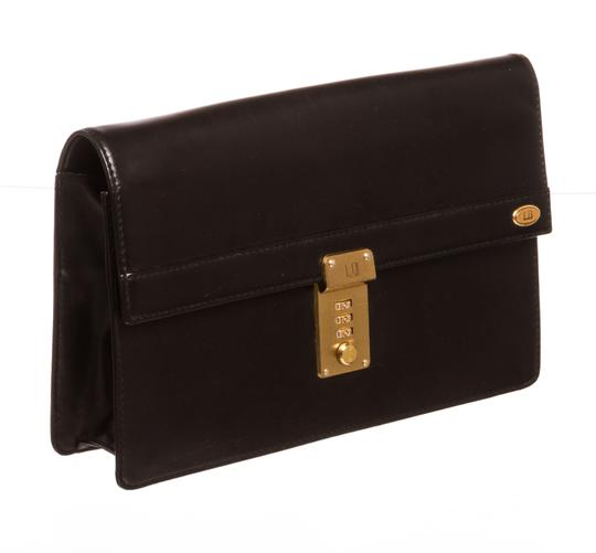 Dunhill Black with Gold Clutch