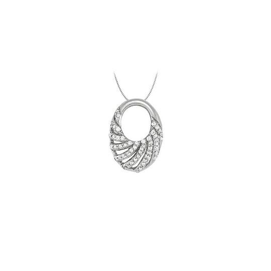 Preload https://img-static.tradesy.com/item/23335551/white-silver-cubic-zirconia-oval-fashion-pendant-in-925-025-ct-tgwperfect-j-necklace-0-0-540-540.jpg