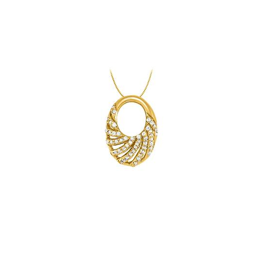 Preload https://img-static.tradesy.com/item/23335570/white-yellow-cubic-zirconia-oval-fashion-pendant-in-gold-vermeilsilver-025-ct-tgw-necklace-0-0-540-540.jpg