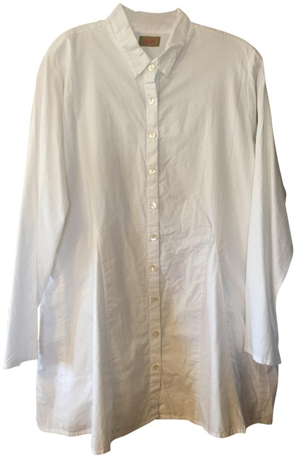 Item - White Perry Tunic Size 16 (XL, Plus 0x)
