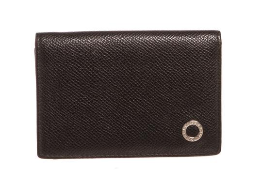 Preload https://item4.tradesy.com/images/bvlgari-black-leather-card-holder-compact-wallet-23335628-0-0.jpg?width=440&height=440