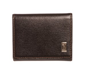 Dunhill Dunhill Black Leather Coin Case