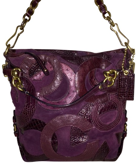 Preload https://item2.tradesy.com/images/coach-brooke-inlaid-c-s-dark-purple-suede-leather-hobo-bag-23335631-0-1.jpg?width=440&height=440