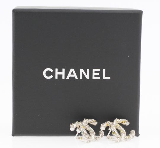 Chanel Pave Crystal Embossed CC
