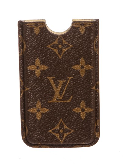 Preload https://item4.tradesy.com/images/louis-vuitton-brown-monogram-canvas-leather-iphone-3-case-cover-tech-accessory-23335653-0-0.jpg?width=440&height=440