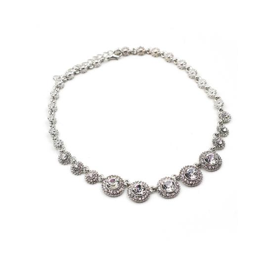Preload https://img-static.tradesy.com/item/23335656/silver-noble-crystal-necklace-0-0-540-540.jpg