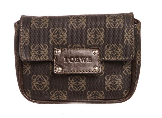 Preload https://item2.tradesy.com/images/loewe-logo-waist-brown-and-beige-canvas-leather-cross-body-bag-23335671-0-0.jpg?width=440&height=440